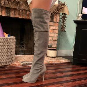 Ralph Lauren over the knee boots
